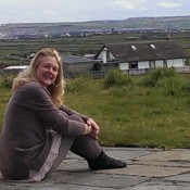 Liz and lovely West Clare