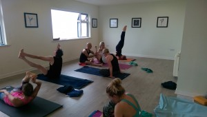 Mysore-style class with Guy Donahaye at GYS