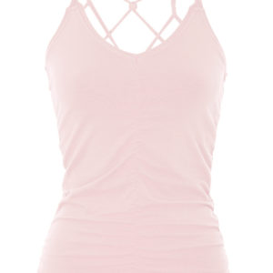 Mandala Cable Top Pastel Pink