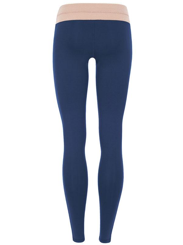 Mandala Workout Leggings Midnight Blue